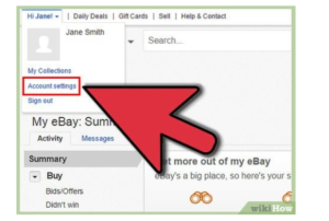How to delete an ebay account?